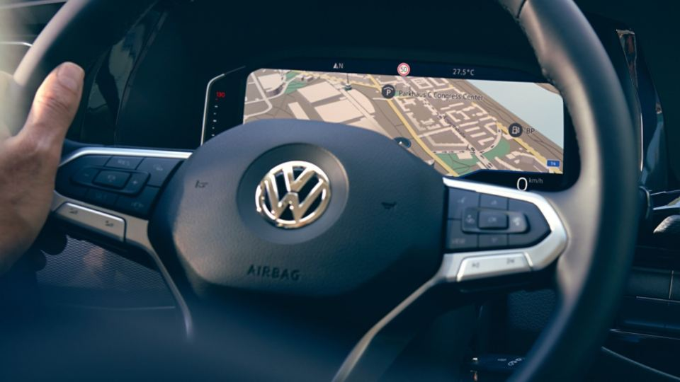 Digital Cockpit des VW Caravelle 6.1